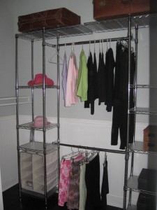 Closet Organizers Improve Use of Space