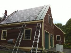 Installing Metal Roof