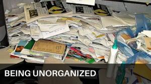 Being Unorganized